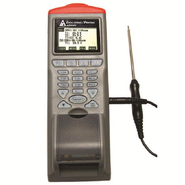 Inregistrator de temperatura cu senzor IR si imprimanta termica [9812]