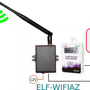 Senzor de temperatura WIFI [ELF-WIFIAZ + AZ88195]