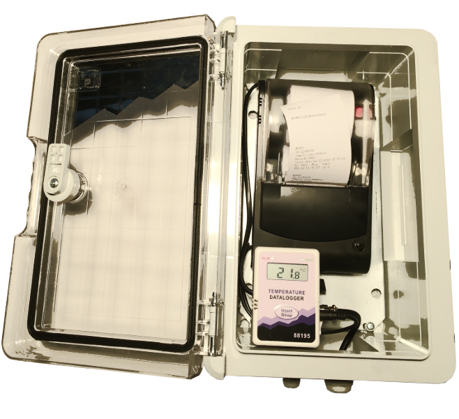 Inregistrator auto de temperatura cu imprimanta termica - Termodiagrama remorca semiremorca