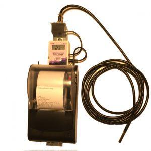 Inregistrator auto de temperatura cu imprimanta termica - Termodiagrama auto