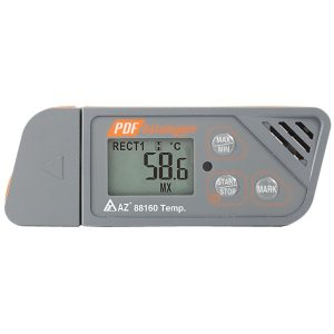 Inregistrator de temperatura USB cu raport PDF